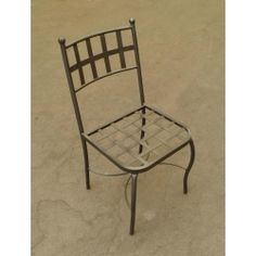 Chair Wrought Iron. Customize Realizations. 447 Outdoor Chairs, Outdoor Furniture, Outdoor Decor, Chair Bench, Wrought Iron, Home Decor, Yard Landscaping, Decoration Home, Room Decor