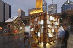 Construído pelo Nic Gonsalves,Nic Martoo na , Australia na data 2013. Imagens do Scott Burrows. Os jovens designers australianos, Nic Gonsalves e Nic Martoo de uma das principais empresas de arquitetura Conrad Gar...