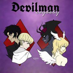Akira Fudo [Devilman] & Ryo Asuka [Satan]