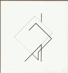 Henryk Stażewski - Kompozycja, 1984 r.