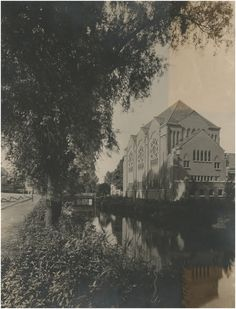 Serie van 3 foto's van de studentenkapel Augustijnen Auteur: Beurden, A. van -1928