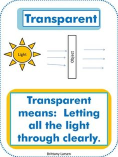 Here's a packet of materials on light that includes word wall posters, writing sheets, a sorting activity, and more.