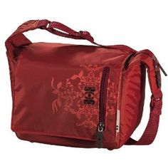 love red camera bags