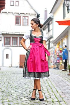 my Dirndl outfit for Oktoberfest by Anni