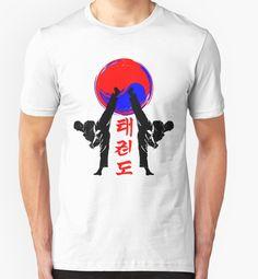 taekwondo badge black high kick korean martial art kick and punch by lu2k