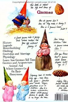 Gnomes: Book by Dutch painter Rien Poortvliet