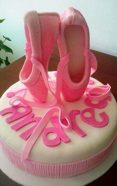 Torta zapatillas ballet  1 libra Vainilla $ 100.000/Cop