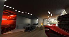 Space age interior  Interior Design Ideas.