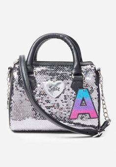 Help her stand out with our collection of fashion bags at Justice. Shop purses, crossbody bags & more - featuring the prints & styles that she loves. Unique Purses, Cute Purses, Handbags On Sale, Purses And Handbags, Fashion Handbags, Fashion Bags, Justice Bags, Justice Backpacks, Justice Stuff