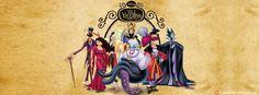 Disney villians facebook cover