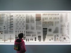 Display history objects in artistic manner  Goldsmiths tools, Pforzheim Jewellery Museum