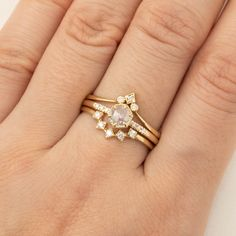 Grace ring stack inspiration💕