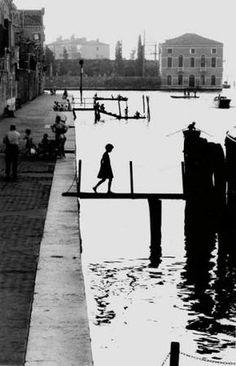 Willy Ronis (1910-2009), Fondamenta nueve Venise, 1959.