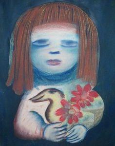 myvanwy gibson by Artist: mirka mora Contemporary Decorative Art, Knit Art, Naive Art, Australian Artists, Flower Art, Folk Art, Sculpture, Creative, Misfits