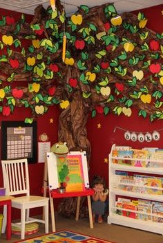 Great for kids space - use my tree in similar fashion