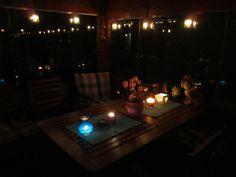 autumn magic - candle holders