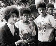 #Kathleen Cleaver Black Panther! Black Consciousness! Natural Hair! Afro!