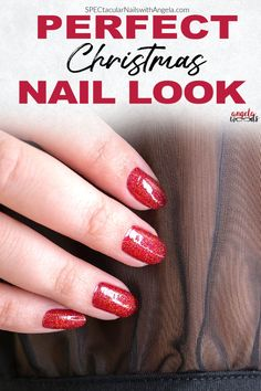 Christmas is the best time of the year to enjoy the festivities. There are countless ways to showcase your personal style and creativity for Christmas. Your clothes are not only ready for the holidays, but your nails can be a nice highlight for the season. Turn up the glam with Cran-tastic, a sparkling scarlet glitter. Get salon perfect nails at home with Color Street! #colorstreet #easynaildesign #christmasnaildesign Holiday Nails, Christmas Nails, Nail Length, Christmas Nail Designs, Nail Polish Strips, Nails At Home, Color Street Nails, Simple Nail Designs, Nail Bar