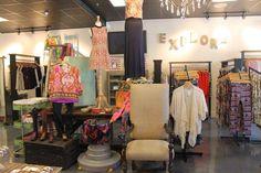 boutique displays