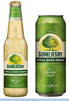 Somersby! This stuff is delicious yet dangerous at the same time! Tastes like carbonated apple juice.