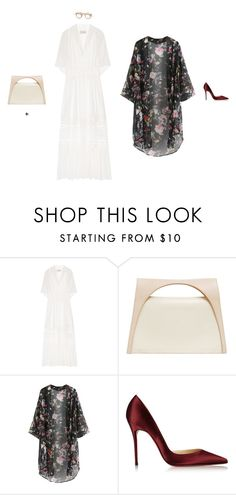 """Like Candy"" by amberelb ❤ liked on Polyvore featuring Temperley London, BOBBY, J.W. Anderson, Christian Louboutin and LE VIAN"