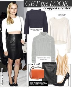 Cropped Sweater via @WhoWhatWear