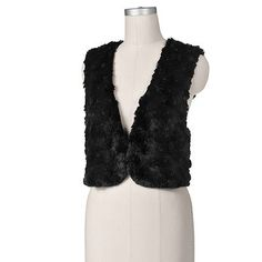 Apt. 9 Faux-Fur Short Vest