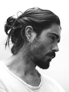Long Hairstyles That Do Not Require Hair Gel For Styling! - Long Hairstyles That Do Not Require Hair Gel For Styling! 7 Sexy Long Hairstyles That Do Not Require Hair Gel For Styling! Hair And Beard Styles, Curly Hair Styles, Natural Hair Styles, Mens Long Hair Styles, Types Of Buns, Man Bun Hairstyles, Black Hairstyles, Long Hairstyles For Men, Hairstyle Ideas