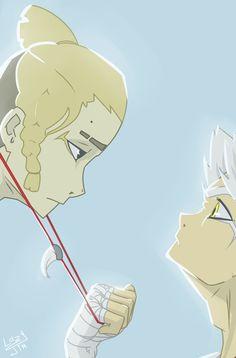 quarrel, medallion, art, animeart, boy, animeboy