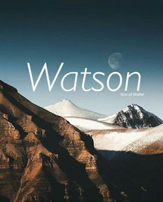 Watson // English name