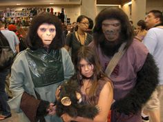 Planet of the Apes, photo by Master Magnius, from San Diego Comic Con.