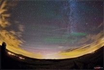 Airglow Over Germany - Astronomy Picture of the Day