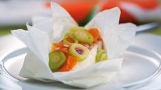 Cocinar al papillote — Medium