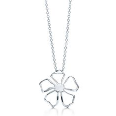 Tiffany and co Necklaces Flower pendant