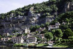 Dordogne Town, Aquitaine, France