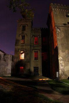 Haunted Old Charleston city jail.