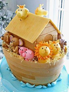 Noe's boat cake