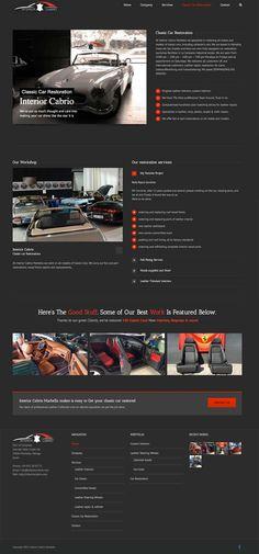 Interior Cabrio Marbella wordpress website design