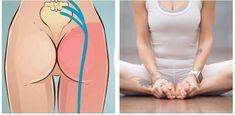 Denne øvelse vil din lænd takke dig for! - læs mere på www. Wellness Fitness, Yoga Fitness, Health Fitness, Lower Back Exercises, Chakra Meditation, Yin Yoga, Back Pain, How To Stay Healthy, At Home Workouts