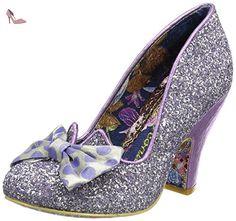 Irregular Choice  Nick of Time, Escarpins femme - Violet (Lilas), 36 EU (3.5 UK) - Chaussures irregular choice (*Partner-Link)