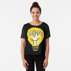 Lightbulb, Iphone Case Covers, Chiffon Tops, Classic T Shirts, Printed, Awesome, Mens Tops, Products, Art