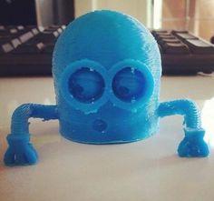Minion impreso en 3D Honduras