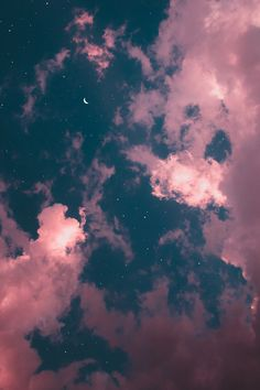 Galaxy Wallpaper Iphone Backgrounds Night Skies Ideas For 2019 Tumblr Wallpaper, Night Sky Wallpaper, Cloud Wallpaper, Iphone Background Wallpaper, Cellphone Wallpaper, Nature Wallpaper, Galaxy Wallpaper Iphone, Moon And Stars Wallpaper, Glitter Phone Wallpaper