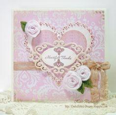 Embellished Dreams: Hearfelt Thanks - Want2Scrap Nestabling™ - JustRite Stampers