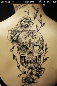 Thinking about doing something like this with my rose on my back