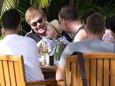 David Furnish Photo - Elton John and Family