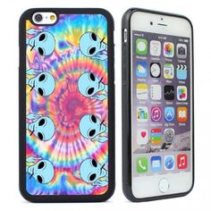 Tie Dye Alien Emoji Iphone 6 Case,Iphone Case Cover for iPhone 4S 5 5S 5C SE 6 6S Plus,Iphone 6 Plus,Emoji Iphone 5s,Iphone 6s,Samsung Galaxy S6 S5 S4 S3 S7,Galaxy Note 5 2 3 4,S5 Mini,S6 Active,Samsung S6 Edge,S6 Edge Plus,S7 Edge,S7 Plus,Galaxy S7 Activ - 2d Print Case