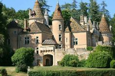 Chateau De Burnand, Bourgogne, France