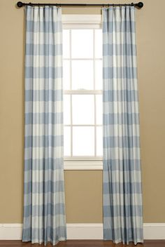 Plaid Curtains Green Curtains And Buffalo Check On Pinterest