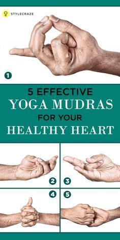Having a healthy heart is essential for a healthy long life. Yoga for heart plays a vital role, here are 5 must practice mudras of #yoga for cardiac ...